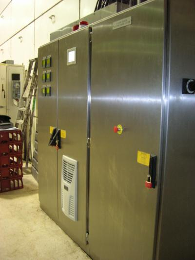Airwasher control panel for plant in Merseyside